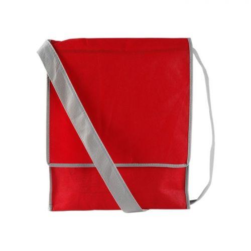 rode schoudertas bedrukken